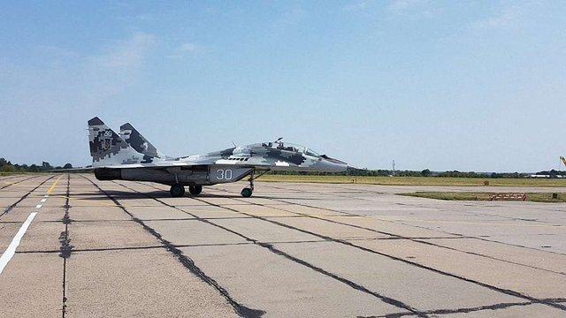 Петро Порошенко здійснив політ на винищувачі МіГ-29