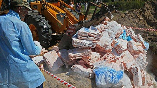 За два роки у Росії знищили 17 тис. тонн іноземних продуктів