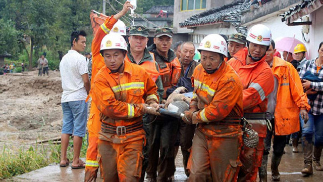 У Китаї стався потужний землетрус: є загиблі та поранені