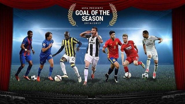 Визначено претендентів на найкращий гол сезону 2016-2017
