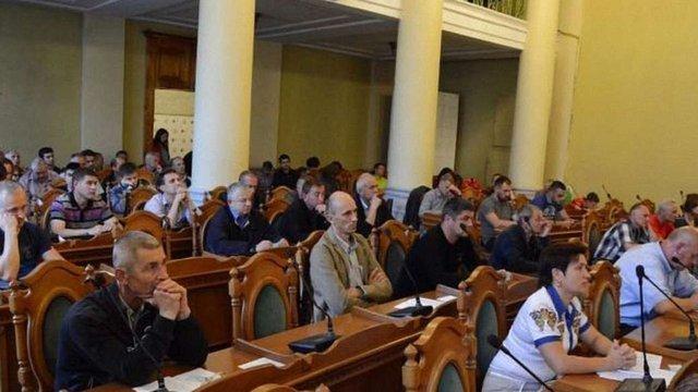 Невідомі зірвали громадське слухання проекту Статуту територіальної громади Львова