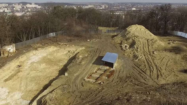 Забудовника парку «Знесіння» оштрафували на ₴76 тис. за 159 незаконно зрубаних дерев