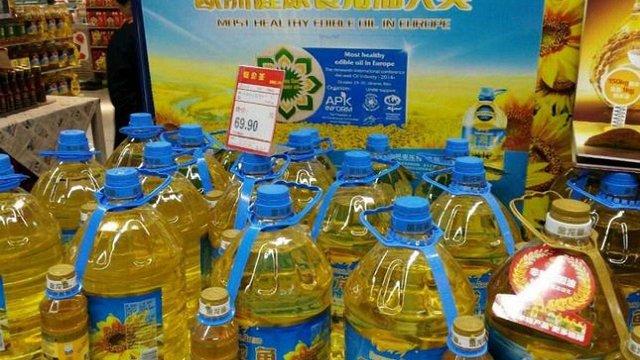 Українська соняшникова олія зайняла 40% внутрішнього ринку Китаю
