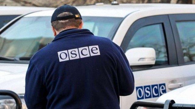 Патруль ОБСЄ зафіксував заборонені зенітні установки бойовиків у Луганську
