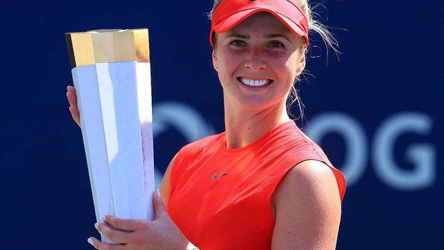 Еліна Світоліна своєю перемогою встановила історичний рекорд WTA