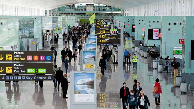 МЗС попередило українських мандрівників про страйк працівників аеропорту Барселони