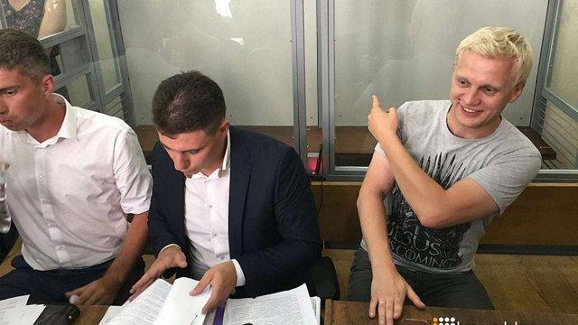 Суд відпустив активіста-антикорупціонера Шабуніна під особисте зобов'язання
