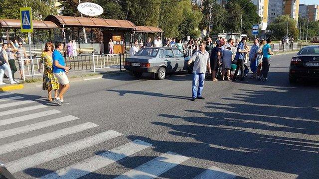 Автомобіль збив на пішохідному переході у Львові 6-річного хлопчика