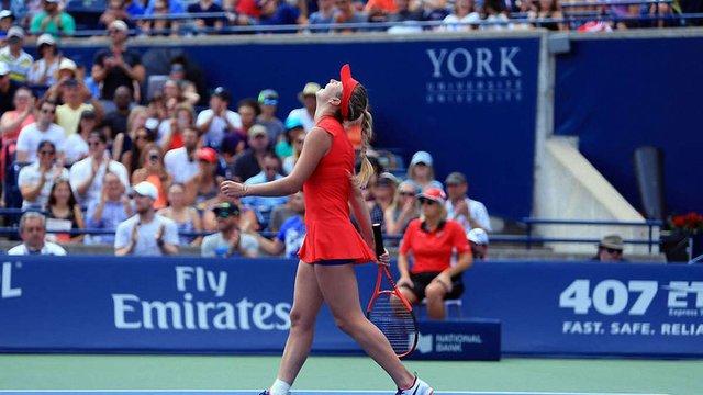 Еліна Світоліна не змогла пройти до чвертьфіналу тенісного турніру в Цинциннаті