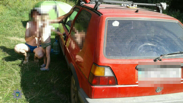 На Львівщині патрульні розшукали батька та сина, які 3 дні не виходили на зв'язок