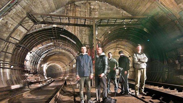 Поліція затримала іноземця, який захотів подивитися на тунелі київського метро