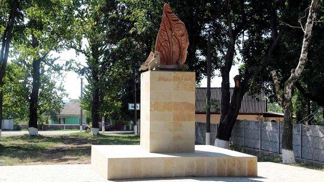 На місці демонтованого пам'ятника Леніну на Вінничині встановили «Полум'я натхнення»