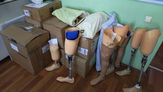 Із Росії в Україну постачали неякісні деталі до протезів для бійців АТО