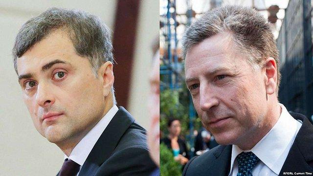 Владислав Сурков і Курт Волкер три години говорили про Донбас у Мінську