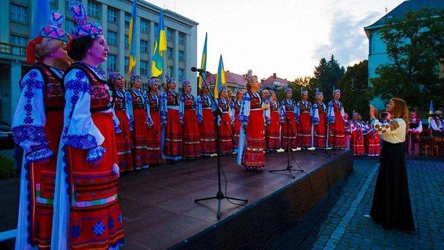Ужгород почав святкувати День Незалежності о 6-й годині ранку