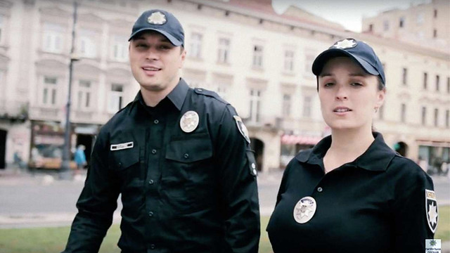 Львівські патрульні записали пісню до Дня Незалежності