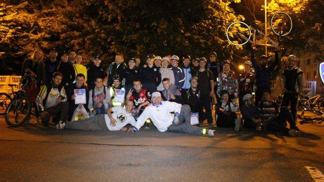Патрульна поліція організувала нічний велоквест для львів'ян