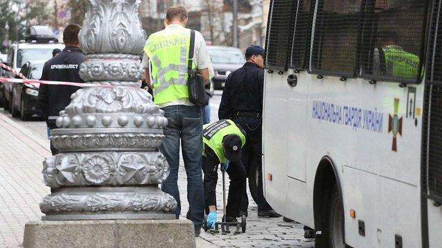 Поліція назвала вибух біля Кабміну «замахом на умисне вбивство»