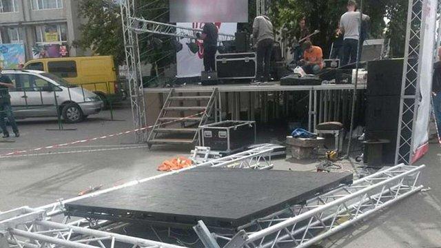 На концерті до Дня Незалежності в Умані травмувалися шестеро дітей