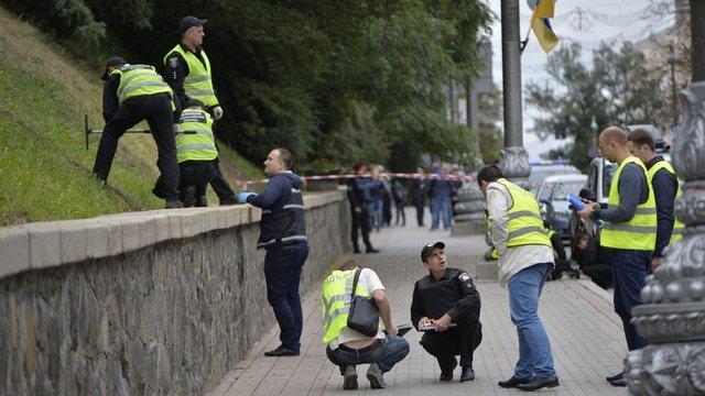 Генпрокурор озвучив нові подробиці у справі вибуху біля Кабміну