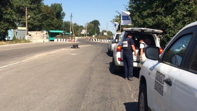ОБСЄ: На Донеччині дві пенсіонерки підірвалися на міні