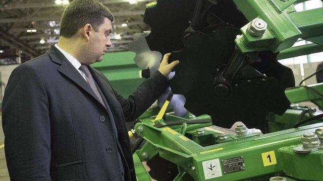 Уряд збільшить фінансування програми компенсації вартості сільгосптехніки до ₴1 млрд