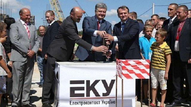 Петро Порошенко приїде на відкриття заводу компанії Nexans на Львівщині