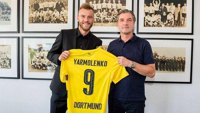 Андрій Ярмоленко офіційно перейшов до дортмундської «Боруссії»