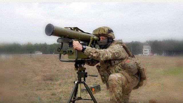 Збройні Сили України отримали аналогічний Javelin ракетний комплекс