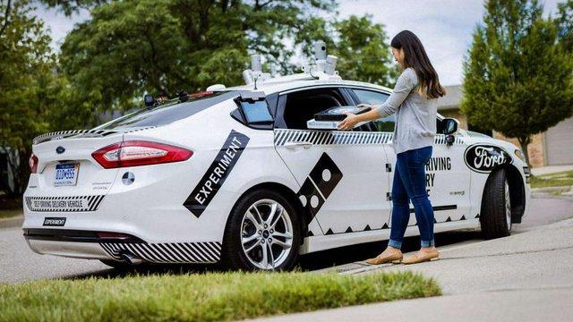 У США тестують доставку піци безпілотними автомобілями