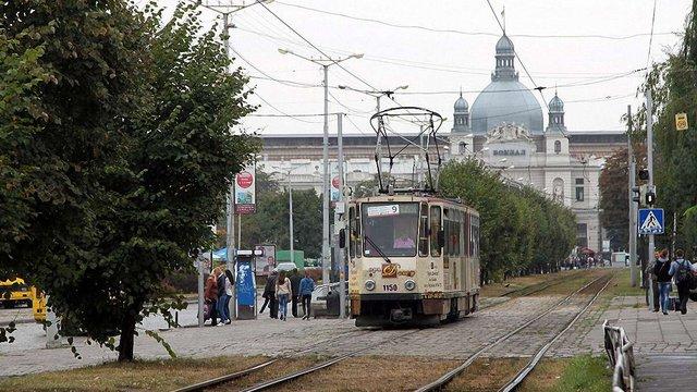 У Львові відновили трамвайне сполучення з головним залізничним вокзалом