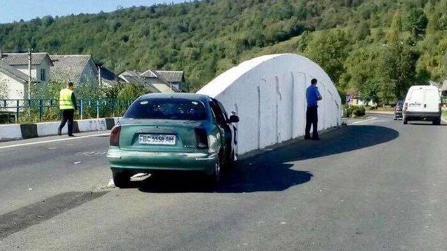 На Львівщині розбився автомобіль з журналістами телеканалу НТА