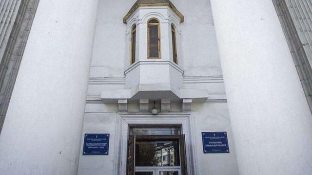 Російські силовики винесли ікони та майно з храму УПЦ КП в окупованому Сімферополі