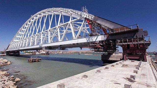 Нідерландські компанії попри санкції беруть участь у будівництві Керченського мосту