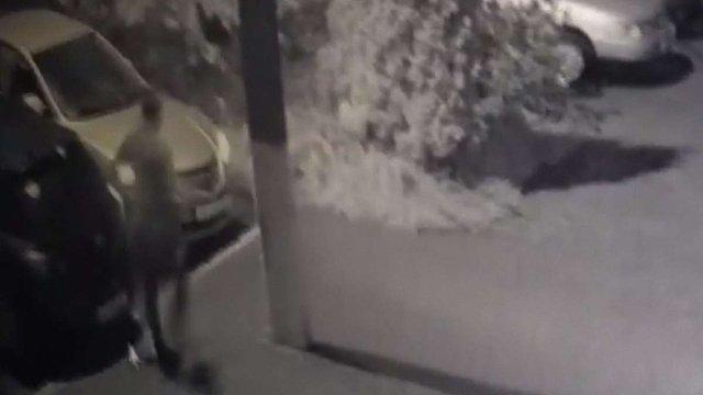 Львівські патрульні затримали злодія за відео з камер спостереження