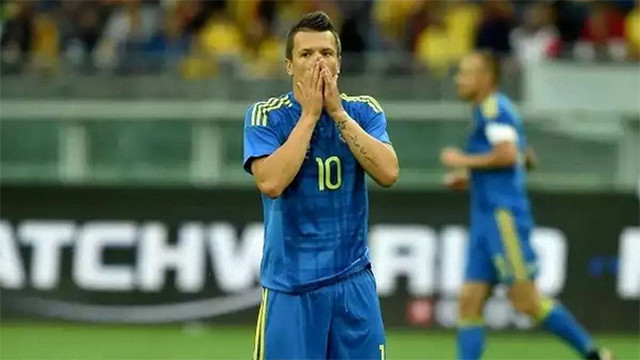 Збірна України програла Ісландії у відборі на Чемпіонат світу