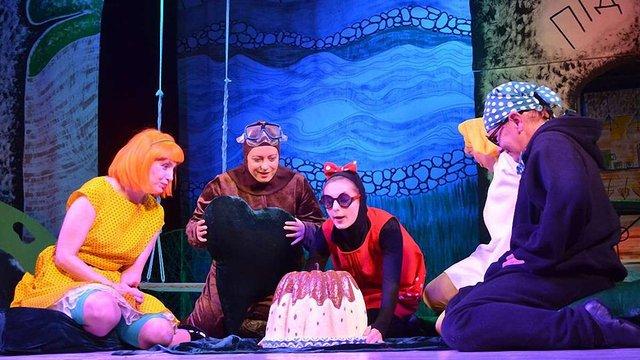 У «Першому театрі» відбудеться прем'єра вистави «Куди зникло море» за мотивами книжки Прохаськів