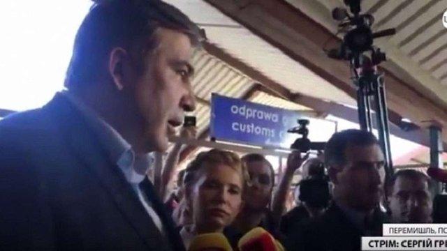 Саакашвілі оголосив, що їде до «Краковця», але поїхав до «Шегині»