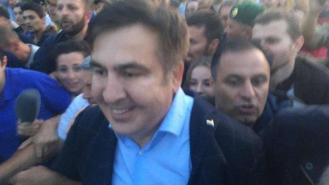 Саакашвілі перетнув український кордон