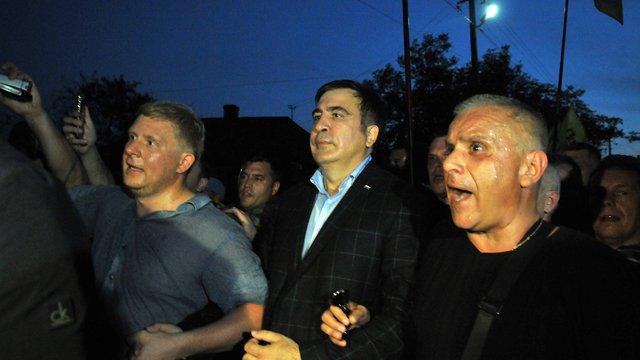 Саакашвілі заявив про викрадення силовиками його українського паспорта