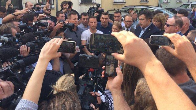 Наливайченко пояснив прорив кордону необхідністю виведення людей із ймовірно замінованого КПП