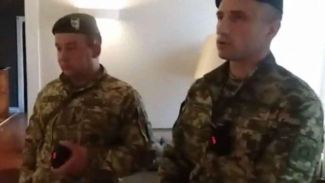 Прикордонники прибули у львівський готель, де живе Саакашвілі