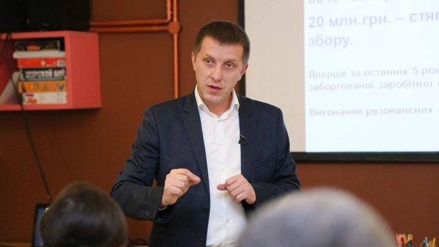 Начальник управління юстиції Львівщини може отримати догану через пісню «Лента за лентою»