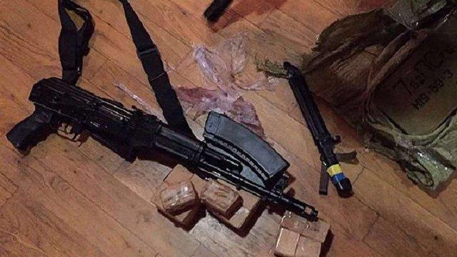 В одного з учасників подій у пункті пропуску «Шегині» виявили зброю та боєприпаси