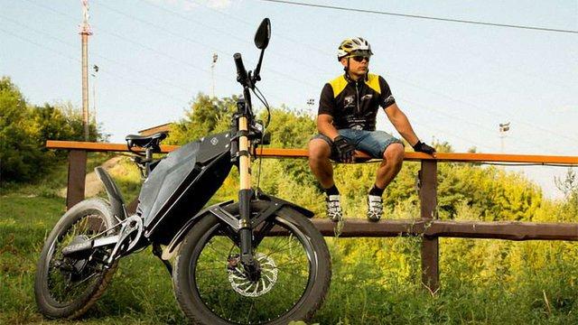 Український стартап створив електробайк із найдовшим у світі запасом ходу