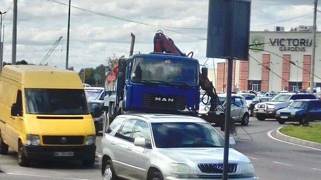 У Залізничному районі Львова тимчасово не курсують тролейбуси