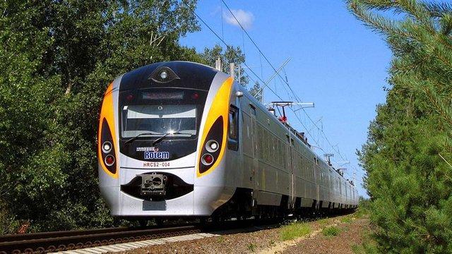 У жовтні швидкісні поїзди «Інтерсіті» Київ-Перемишль курсуватимуть за зміненим маршрутом