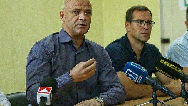 Голова Одеси пообіцяв грошову допомогу сім'ям постраждалих від пожежі дітей