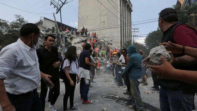 У Мексиці внаслідок потужного землетрусу загинуло майже 150 людей