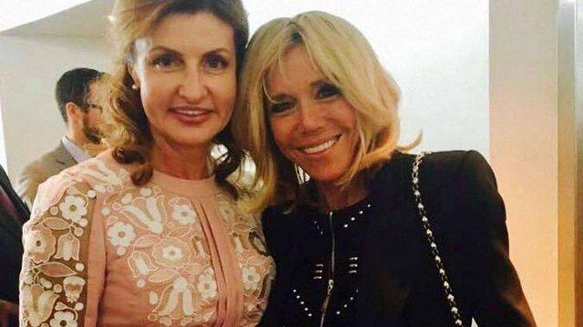 Перші леді України і Франції домовилися спільно розвивати інклюзивну освіту